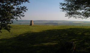 Trig Point on Blackcap