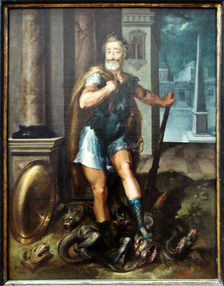 Henry_IV_en_Herculeus_terrassant_l_Hydre_de_Lerne_cad_La_ligue_Catholique_Atelier_Toussaint_Dubreuil_circa_1600