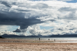 The Cuillin Hills from Sand, Applecross Peninsula