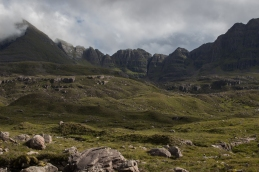 Liathach from Coire Mhic Nòbuil