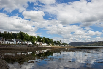 Lochcarron from Loch Carron