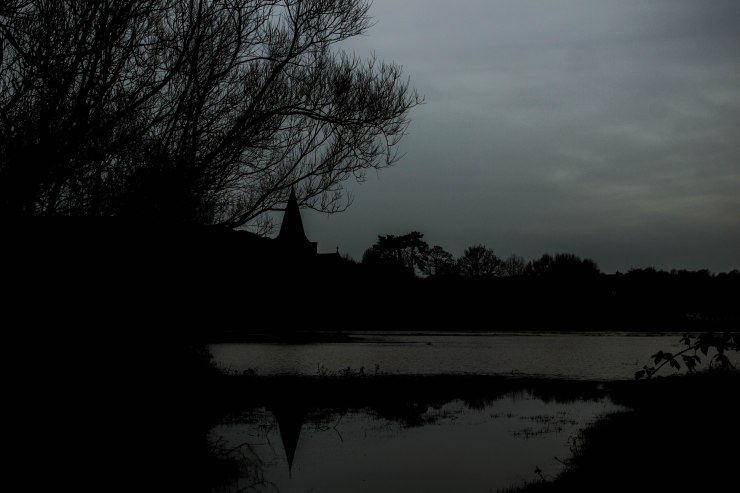 Alfriston flood dark
