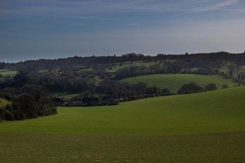 Saddlescombe Farm beyond North Laine